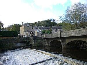 Oughtibridge - Image: River Don at Oughtibridge