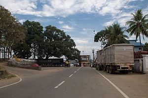 Kozhikode district - Street in Kozhikode