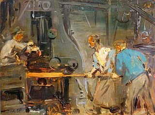 Workers in Ironworks (Krupp)
