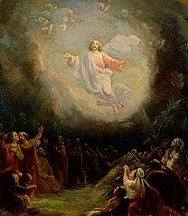 Kristuksen taivaaseenastuminen, luonnos Lemlannin alttaritauluun
