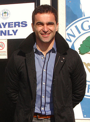 Wigan Athletic F.C. - Former Wigan player Roberto Martínez managed the club to victory in the 2013 FA Cup Final, their first major honour.