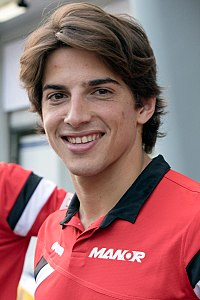 Merhi under Malaysias Grand Prix 2015.