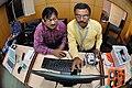 Robot Building Session - Workshop on Organising Indian and World Robot Olympiad - NCSM - Kolkata 2016-03-08 2327.JPG