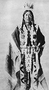 Rocky Boy Chippewa chief