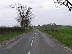 Cade's Road - Cade's Road near Middleton One Row.