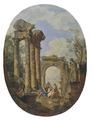 Roman Ruins (Giovanni Paolo Panini) - Nationalmuseum - 94378.tif