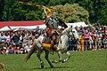 Roman cavalry reenactment Carnuntum 2008 16.jpg