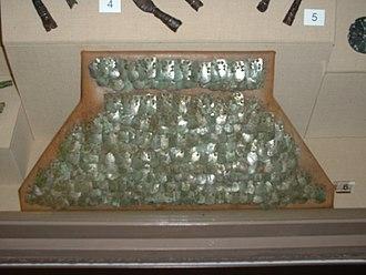Lorica squamata - Roman scale armour fragment
