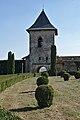 Romania Iași Cetățuia Monastery Entrance Tower.jpg