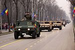 Romanian HMMWVes during the Romanian National Day military parade 2.jpg