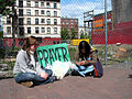 Rose and Tina Pray for the Downtown Eastside.jpg