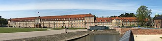 Rosenborg Barracks - Image: Rosenborg Barracks panorama