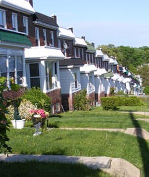 Mid-Govans, Baltimore - Homes in Govans, just off York Road