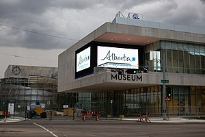 Royal Alberta Museum - New building in August 2016
