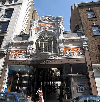 Royal Arcade, London - Entrance at Albemarle Street