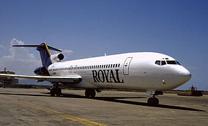 Royal Aviation - Royal Airlines Boeing 727-200