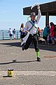 Royal Liberty Morris dancer at Broadstairs Folk Week 2017, Kent, England 2.jpg