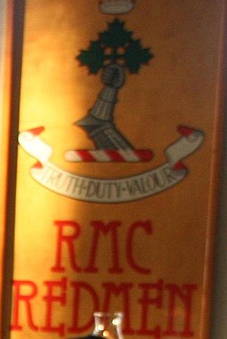 Royal Military College Paladins - Royal Military College Redmen logo