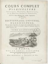Rozier - Cours d'agriculture, 1783, tome 4.djvu