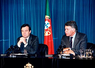 António Guterres - Guterres and Prime Minister of Spain Felipe González, in January 1996.