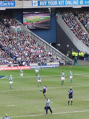 Scotland national rugby union team - Scotland v Ireland 2007