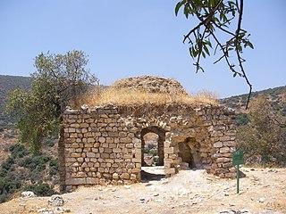 Al-Zahiriyya al-Tahta Place in Safad, Mandatory Palestine