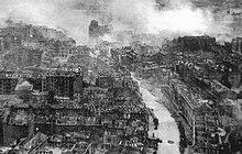 Rovine di Kiev dopo la battaglia