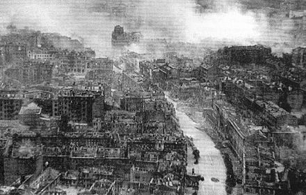 Ruins of Kiev during World War II Ruined Kiev in WWII.jpg