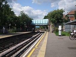 Ruislip station westbound