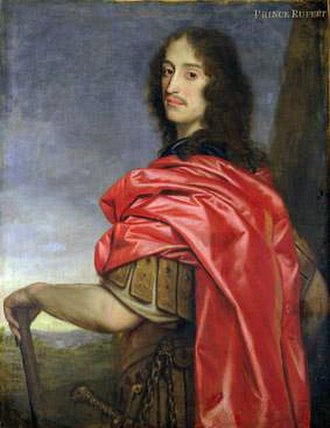 Prince Rupert of the Rhine - Prince Rupert portrayed in Roman garb
