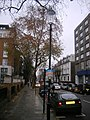 Russell Road, London W14 from Junction with Kensington High Street, London W14 - geograph.org.uk - 624132.jpg