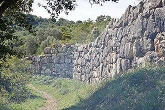 Rusellae - Etruscan city walls