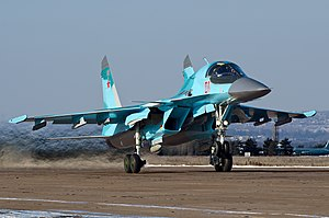 Sukhoi Su-34 - Russian Air Force Su-34