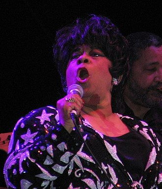 Ruth Brown - Brown performing at the 2005 Bull Durham Blues Festival