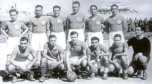Tunisia national football team - Tunisian team in 1939