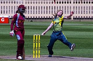 Sarah Coyte Australian Womens cricketer