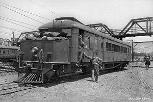 South African Clayton Railmotor - Clayton Railmotor no. RM11, c. 1929