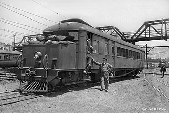 1929 in South Africa - Clayton Railmotor