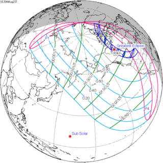 Solar eclipse of August 23, 2044