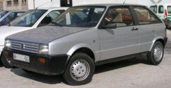 1986 SEAT Ibiza Mk. 1 Diesel