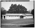 SOUTHEAST VIEW, SOUTH PORCH - Camp Angell Barracks, Angell Job Corps Center, Highway 101, Waldport, Lincoln County, OR HABS ORE,21-WALPO,1-2.tif
