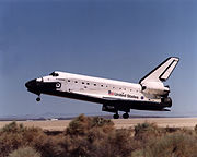 STS-111 landing