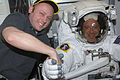 STS-119 Day 9 Fincke and Arnold.jpg
