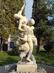 Fountain of the Rape of the Sabine women