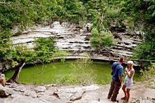 Cenote Sagrado de Chich�n Itz�