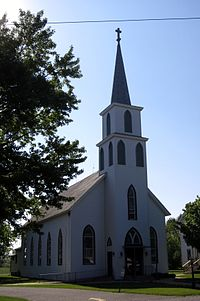 Sacred Heart Church (Wanatah, Indiana) - exterior.jpg