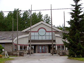 Sagamok Anishnawbek First Nation - Council building