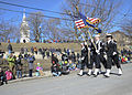 Sailors march in a St. Patrick's Day Parade. (13267850254).jpg
