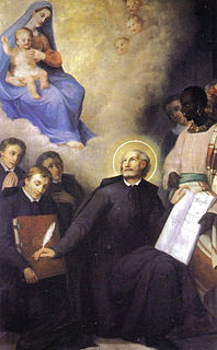St. Giovanni Leonardi Founder of the Clerks Regular of the Mother of God of Lucca