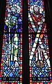 Saint Anthony of Padua Catholic Church (Dayton, Ohio) - stained glass, Sts. Andrew & Philip.JPG
